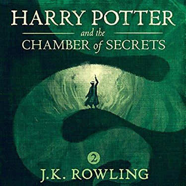 """Another must-listen from my #AudibleApp: """"Harry Potter and the Chamber of Secrets, Book 2"""" by J.K. Rowling, narrated by Jim Dale."""