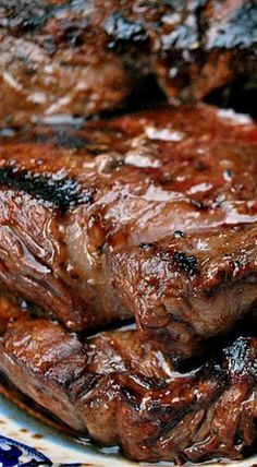 Marinated Beef Sirloin Tip Steaks - this super simple marinade transforms these steaks into a mouthwatering dinner! ❊                                                                                                                                                     More