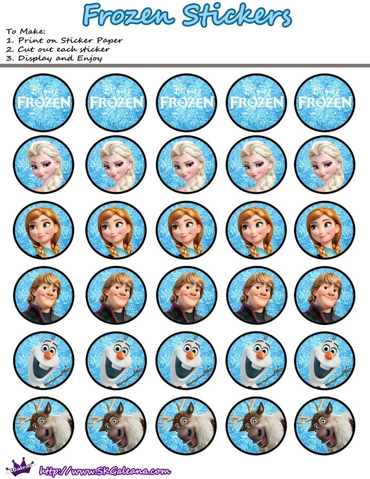For toppers, stickers or labels. http://eng.ohmyfiesta.com/2014/09/frozen-free-printable-candy-bar-labels.html