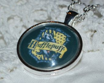 Harry Potter Inspired Hufflepuff  House Necklace
