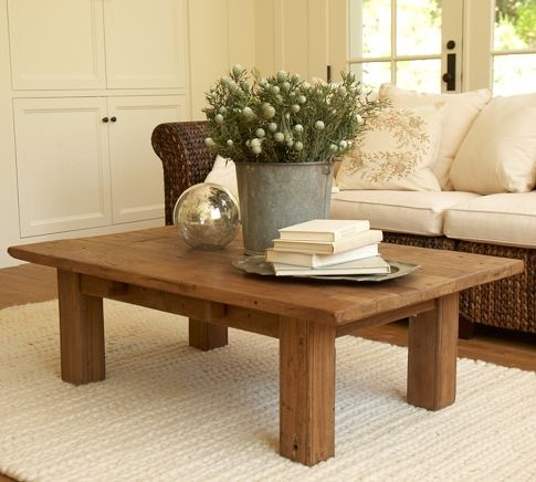 Simple but elegant. Now to find a local reclaimed lumber dealer so I can build it :)