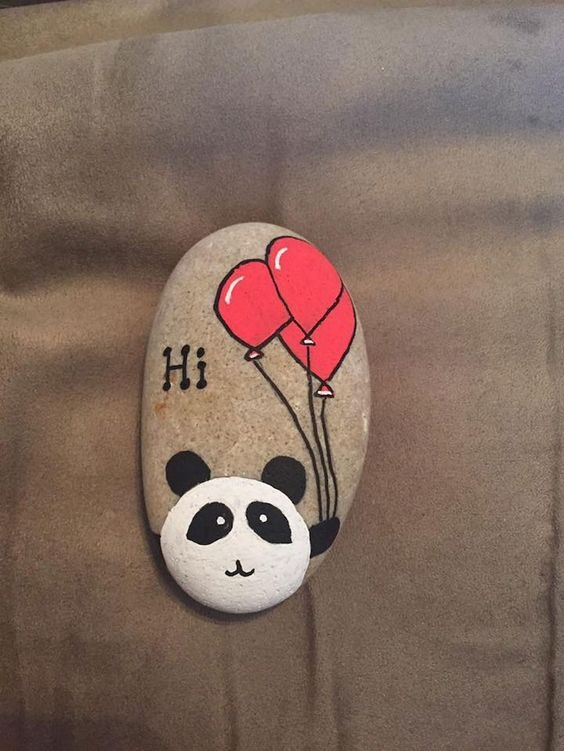 easy rock painting ideas Art for Kids] 21+ Cute and Creative Rock Painting Ideas   Animal  easy rock painting ideas