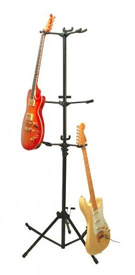 Stand Guitare multiple (6 guitares) - On Stage GS7652B Noir