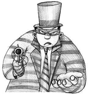 Resumo da bagaça: Quem sonega imposto financia o crime organizado; no Brasil quem paga também financia