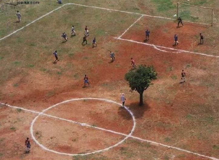 Soccer Field, South Africa, 2007
