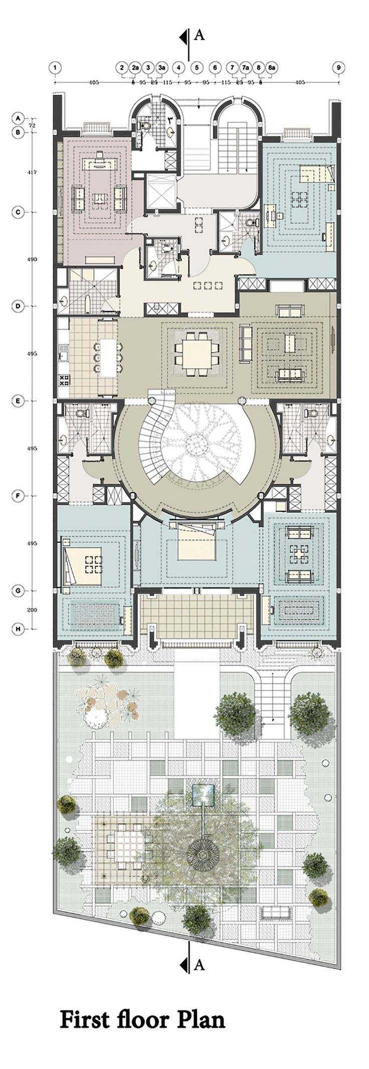 3327 best plans images on pinterest floor plans architecture imagen 18 de 22 de la galeria de renovacion de una casa en kaveh teheran house renovationsdesign studiosprimersfloor plansarchitecture