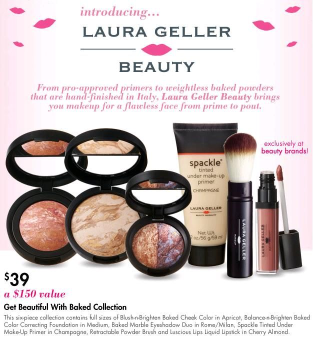"""Laura Geller Beauty Get Beautiful with Baked is featured and photographed in a story titled, """"Get Six Full-Size Laura Geller Beauty Products for Under $40"""" on NouveauCheap.blogspot.com.   @Gianna Nouveau"""
