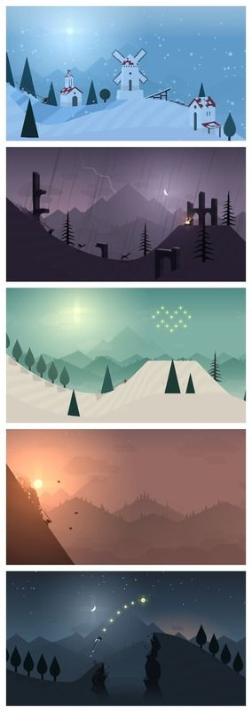 Alto's Adventures: A stunning snowboard app that is as lovely to look at as  it's fun to play. Download for your iPad!