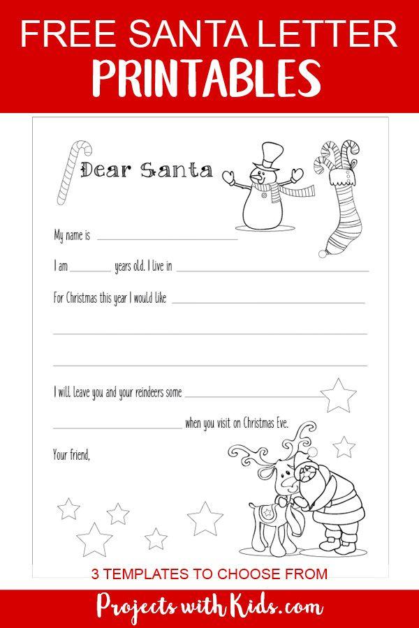 14+ Santa Letter Template