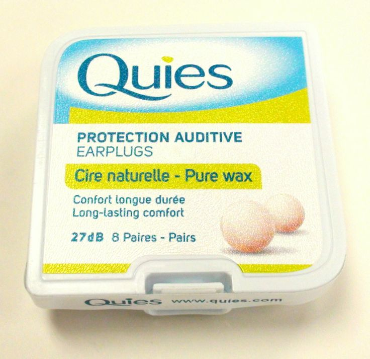 Quies french wax ear plugs are imported to the U.S. by ear plug superstore. These are fantastic for sleeping.