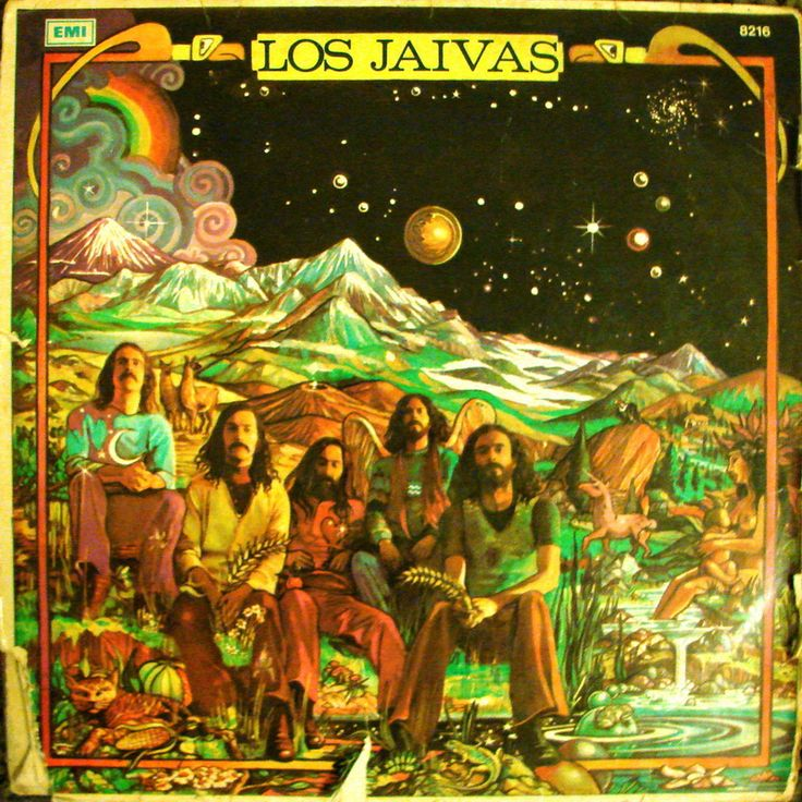 "One of the covers of the Chilean music group ""Los Jaivas"" There's a post and a video included"