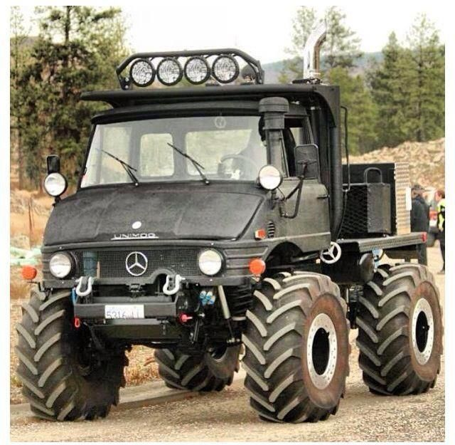 unimog - ultimate explorer vehicle