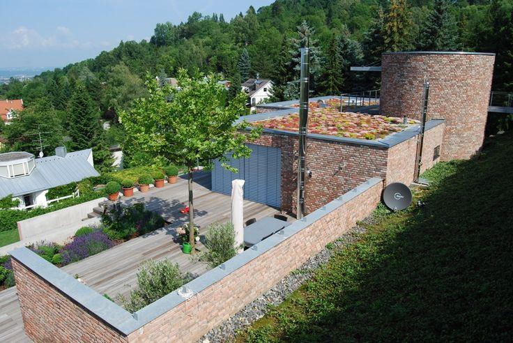 Zielone dachy i tarasy domy prywatne | APK Dachy Zielone