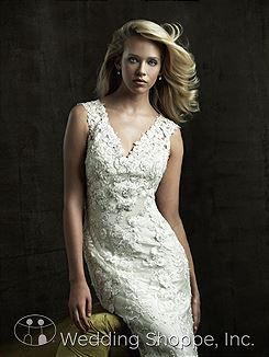 Bridal Gowns Allure  8800 Bridal Gown Image 4