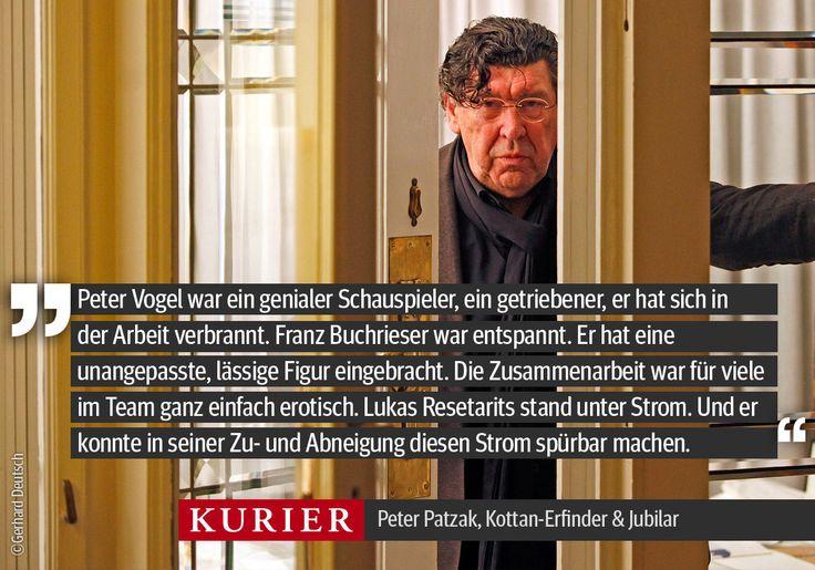 Alles Gute zum 70er, Meister!http://freizeit.at/5014/peter-patzak-ich-denke-laut/101.397.771