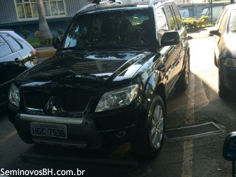Seminovos BH | Mitsubishi Pajero TR4 2.0 16V FLEX cor Verde 2011/2012