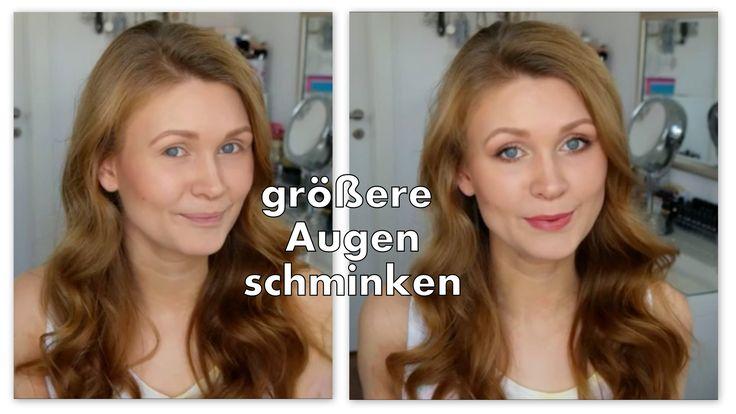 Die besten 10 ideen zu schlupflider schminken auf for Dezent augen schminken