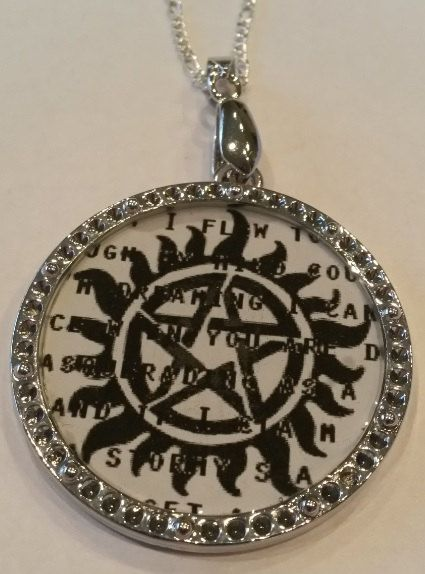 Supernatural Anti-Possession Symbol Pendant by GeekYourInterest