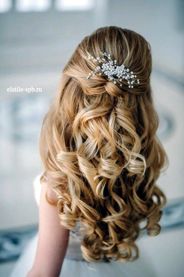 40 Perfect Wedding Hairstyles For 2016 | http://hercanvas.com/40-perfect-wedding-hairstyles-2016/