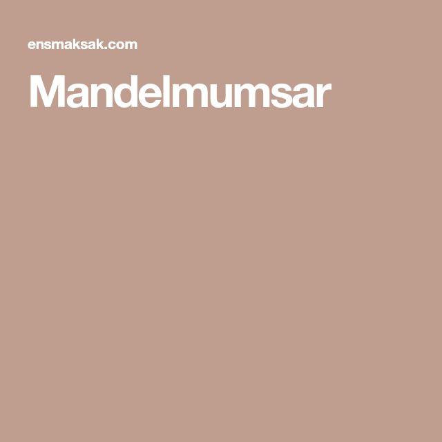 Mandelmumsar
