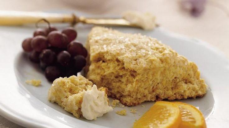 ... Coffee shop sweet scones strut fresh orange flavor and chewy oats
