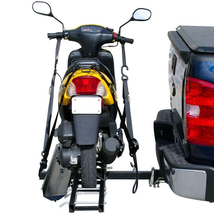 Black widow steel motorcycle 600 lbs capacity bike