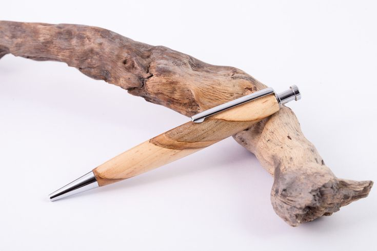 Holz-Klick-Kugelschreiber-Ambrosia-Ahorn