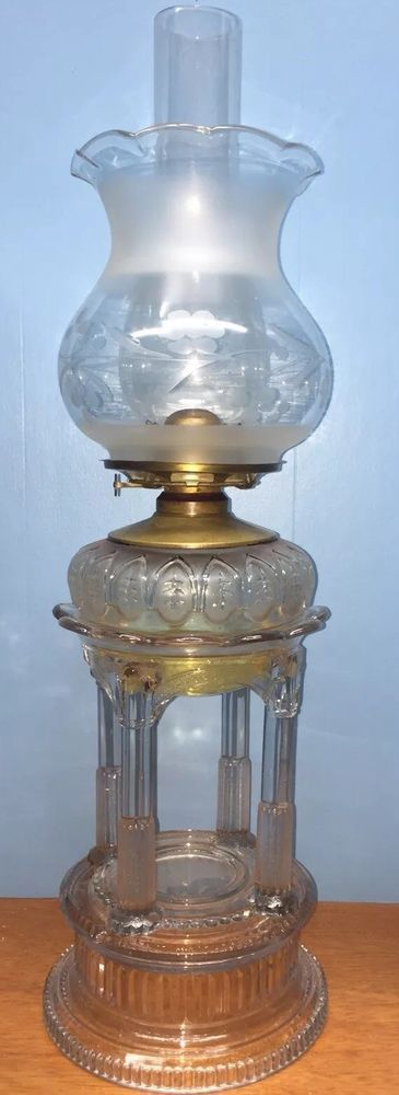 Applesauce Oil Lamp 1880/1890 | Collectibles, Lamps, Lighting, Lamps: Non-Electric | eBay!