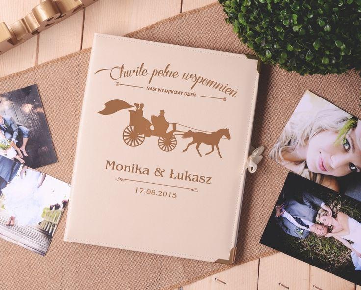 Personalizowany album na zdjęcia KARETA