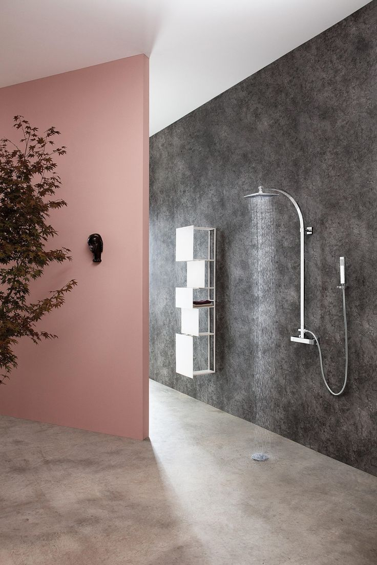17 Best images about Interior (Bathroom) on Pinterest | Architects ... - Aqua-Sense - concealed diverter - exposed parts - Shower taps / mixers by  Graff