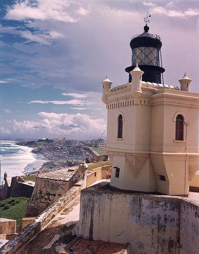 El Morro Castle,  Puerto Rico. Need to visit my heritage again soon!