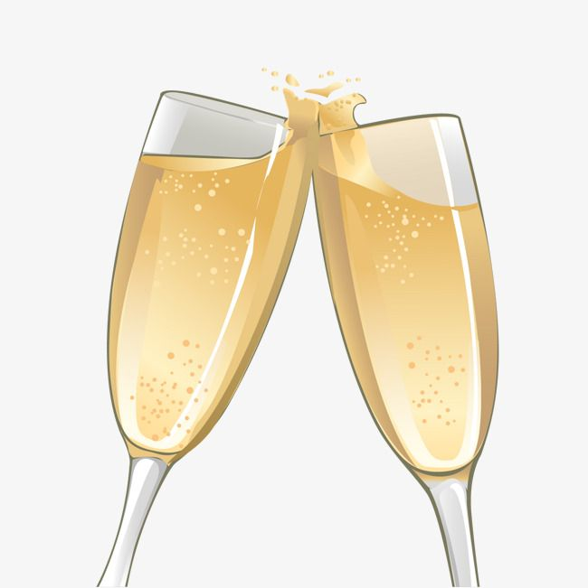 Vector Champagne Glasses Png And Vector Champagne Glasses Champagne Glasses