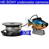 HIgh resolution HD 30M watreproof underwater IR-led video recorder night vison Fish Finder & Diving Camera Application