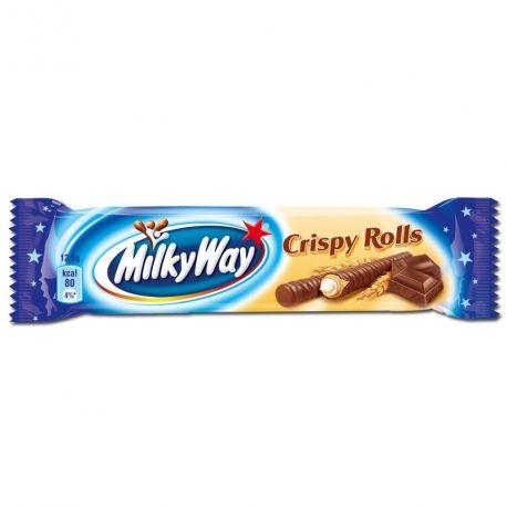 Milky Way Crispy Rolls -  Barre de chocolat - Génération Souvenirs