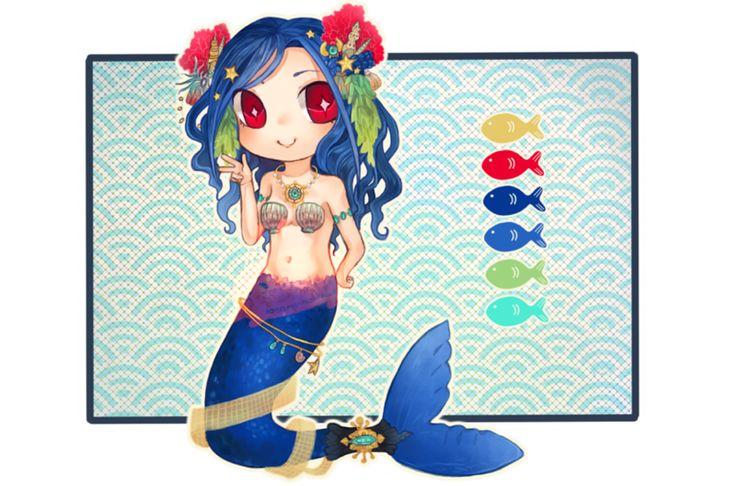Custom Adopt: Mermaid by homeless-adoptable