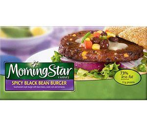 Morning Star Farms spicy black bean burger