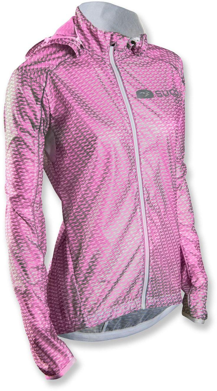 Women's Sugoi Hydrolite Bike Jacket — Fits in a bike jersey pocket, so you can grab it fast when wind picks up.