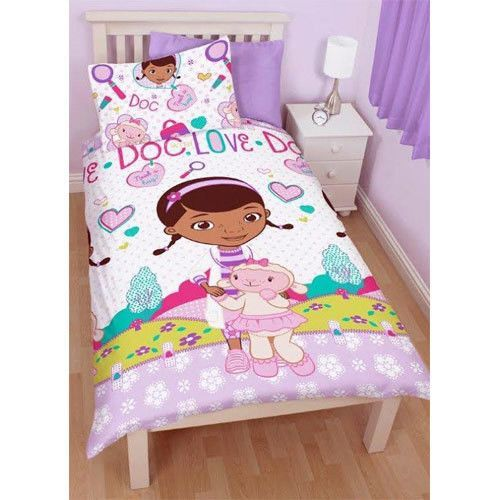 Doc McStuffins 'Hugs' Single Duvet Set Listing in the Duvets, Blankets & Pillows,Bedroom,Home & Garden Category on eBid United Kingdom | 141411345