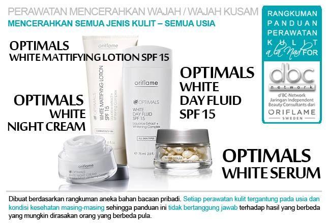 Optimals White Mattifying Lotion SPF 15   Optimals White Day Fluid SPF 15   Optimals White Night Cream   Optimals White Serum     #perawatan #mencerahkan #wajah #kusam  #semuajenis #kulit #semuausia #tipsdBCN #Oriflame