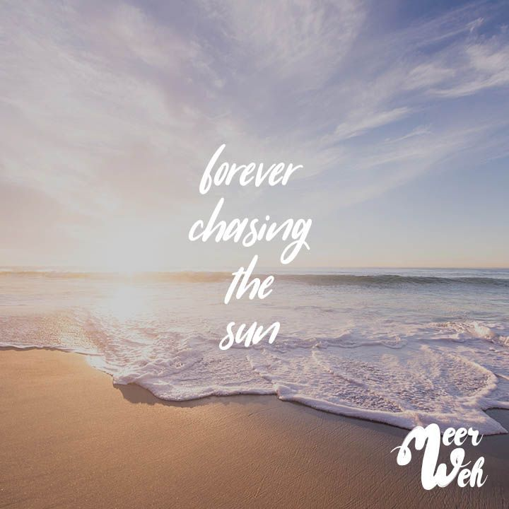Forever Chasing The Sun Chasing Sun Chasing The Sun Vacation Quotes Sun Quotes