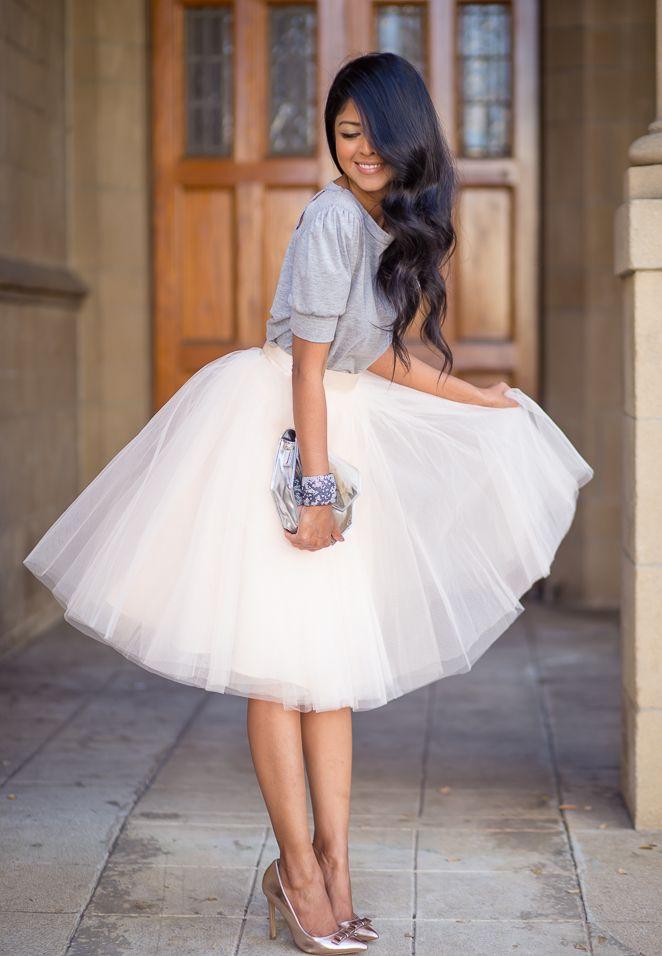 Inspiration (et obsession) : Porter une jupe de tulle pour se sentir comme une princesse