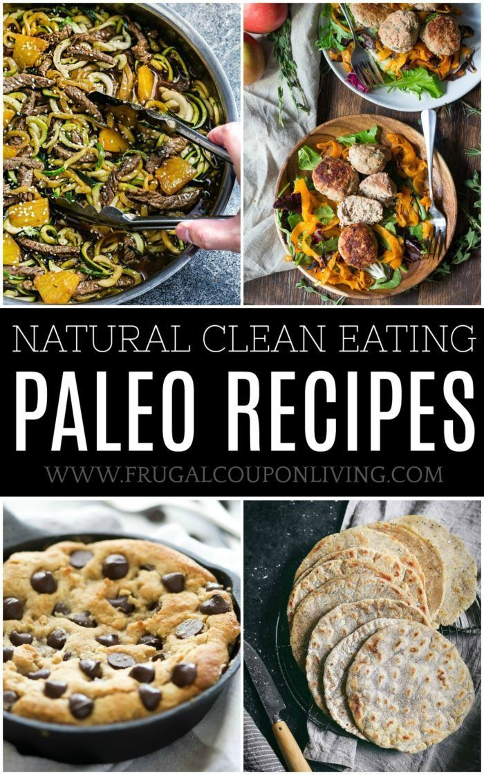 Natural Clean Eating Paleo Recipes on Frugal Coupon Living. Healthy recipes with...