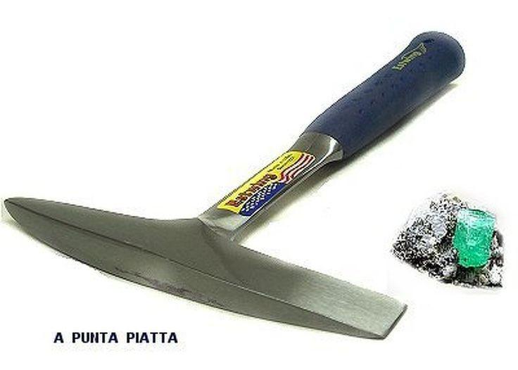 MARTELLO ESTWING DA GEMMOLOGO -GEOLOGO A PUNTA PIATTA