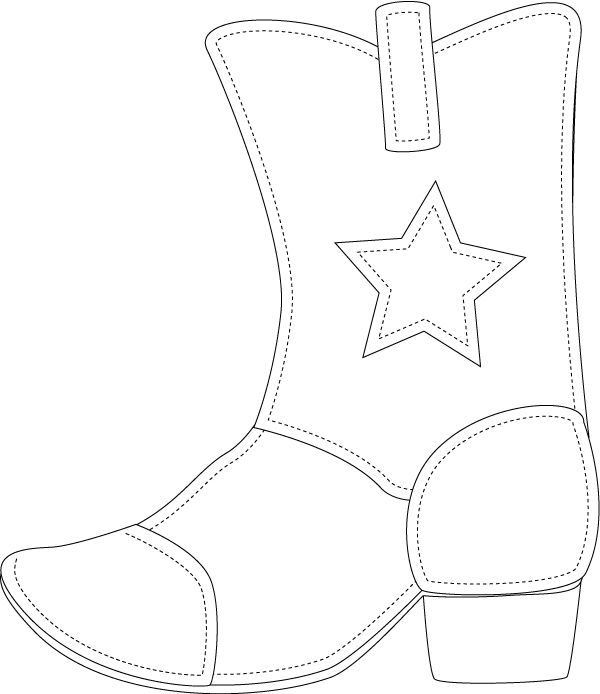 Template For Cowboy Boot Photo:  This Photo was uploaded by flyawaycakes. Find other Template For Cowboy Boot pictures and photos or upload your own with...