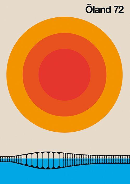 Bo Lundberg | Oland 72 ✭ graphic design poster