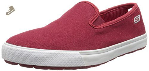 Skechers Performance Women's Go Vulc Ventura Slip-On Sneaker, Red, 8 M US - Skechers sneakers for women (*Amazon Partner-Link)