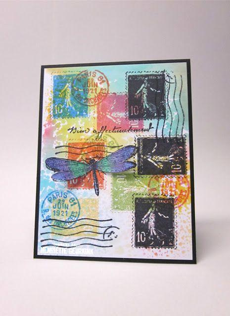 Henriette Geurkink - 57/27 juli Postzegels