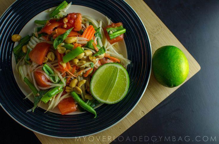 Crunchy and fresh Green Papaya Salad