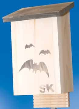 Bat House! Holds up to 100 bats! Perfect for rural or suburban homes.