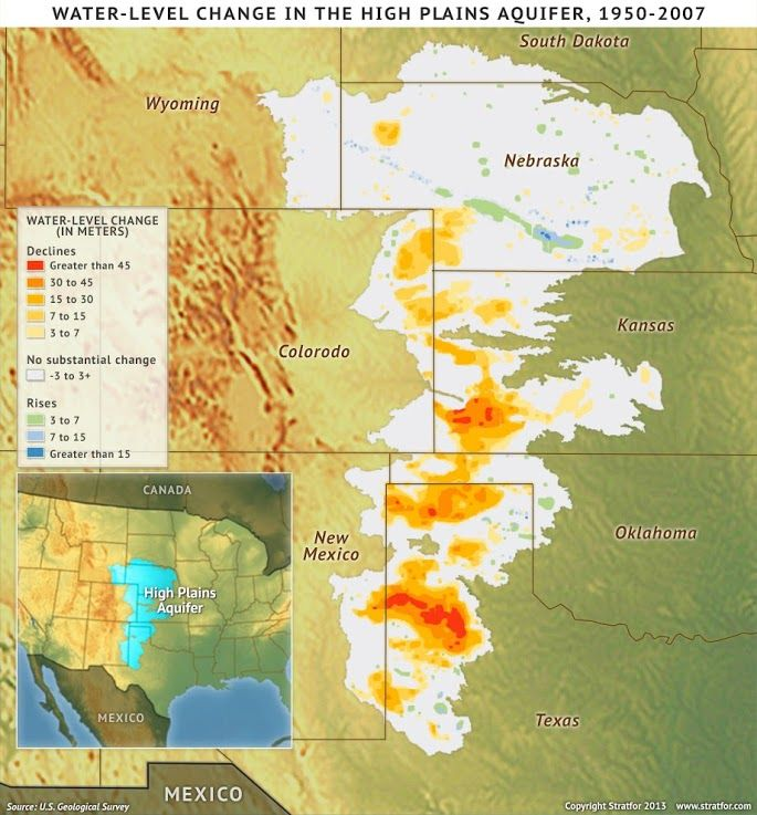 Best High Plains Aquifer Images On Pinterest Ogallala Aquifer - Aquifer us map